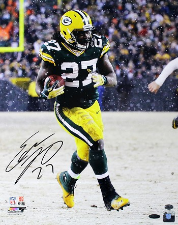 Eddie Lacy Autographed Green Bay Packers 16x20 Photo