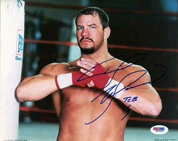 Tommy Morrison Autographed Boxing 8x10 Photo Inscribed TCB