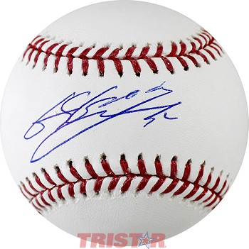Byung-Ho Park Autographed Official Major League Baseball