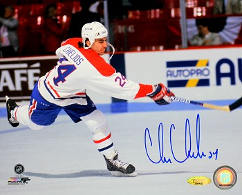 Chris Chelios Autographed Montreal Canadiens 8x10 Photo