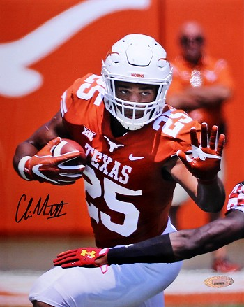 Chris Warren Autographed Texas Longhorns 8x10 Photo