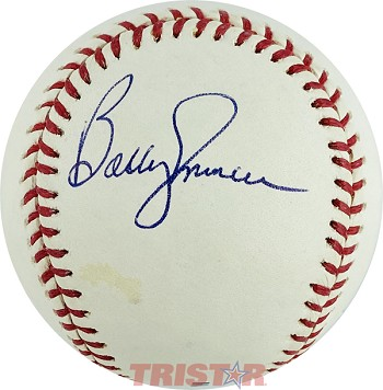 Bobby Murcer Autographed Official Major League Baseball