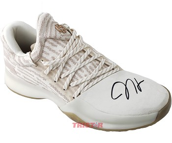 James Harden Autographed Adidas Vol. 1 Primeknit Signature Shoe