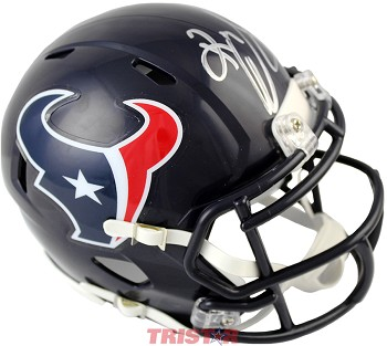Keke Coutee Autographed Houston Texans Mini Helmet