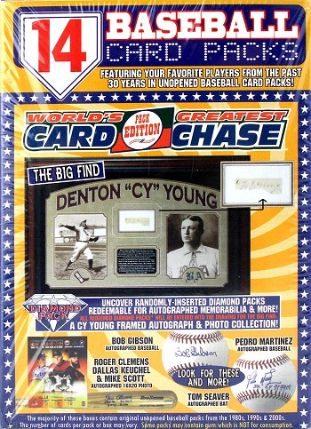 World's Greatest Card Chase Pack Edition - Cy Young Series - 14 Pack Yellow Box