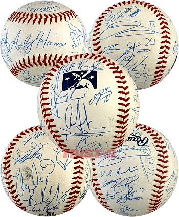 2014 AFL East All-Star Team Autographed Baseball - Aaron Judge & 25 More