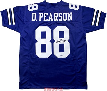 Drew Pearson Autographed Dallas Cowboys Custom Jersey