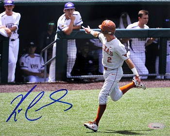 Kody Clemens Autographed University of Texas Longhorns 8x10 Photo