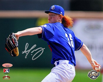 Dustin May Autographed Los Angeles Minor League Quakes 8x10 Photo