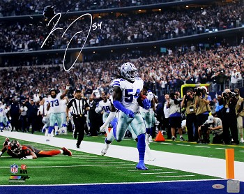Jaylon Smith Autographed Dallas Cowboys 16x20 Photo