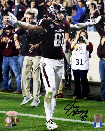Jace Sternberger Autographed Texas A&M Aggies 8x10 Photo