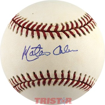 Matty Alou Autographed Official Major League Baseball