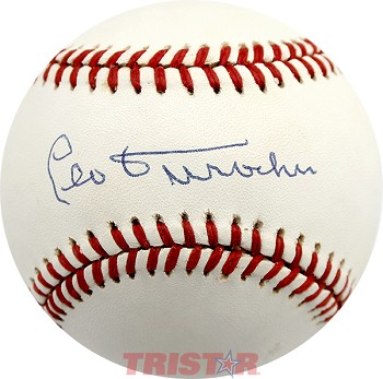 Leo Durocher Autographed Official National League Baseball