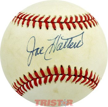 Joe Hatten Autographed Official National League Baseball