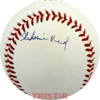 Jehosie 'Jay' Heard Autographed Official National League Baseball