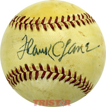 Frank Lane Autographed Official National League Baseball