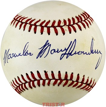 Marvelous Marv Thorneberry Autographed Official American League Baseball