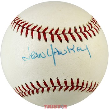 Jean Yawkey Autographed Official AL Baseball