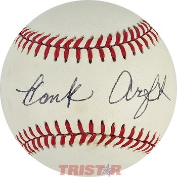 Hank Arft Autographed Official American League Baseball