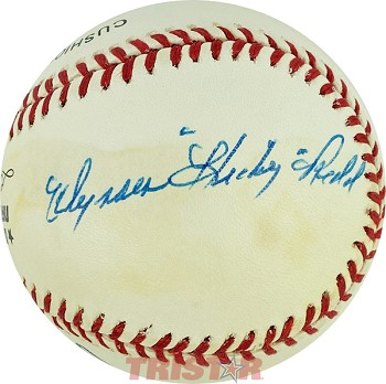 Ulysses Redd Autographed Official National League Baseball