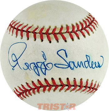 Reggie Sanders Autographed Official American League Baseball