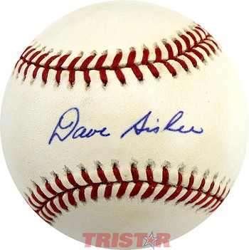 Dave Sisler Autographed Official American League Baseball