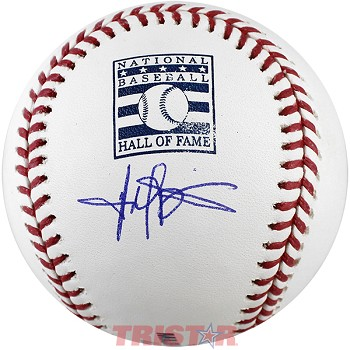 Harold Baines Autographed Official Hall of Fame Baseball