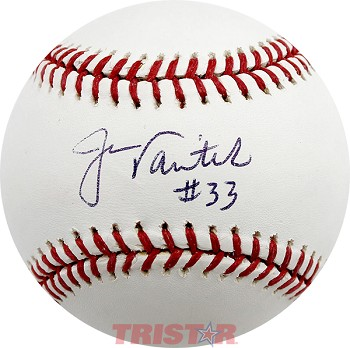 Jason Varitek Autographed Official Major League Baseball