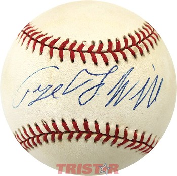 George Will Autographed Official National League Baseball