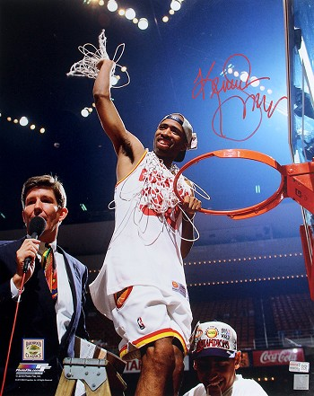 Kenny Smith Autographed Houston Rockets 16x20 Photo