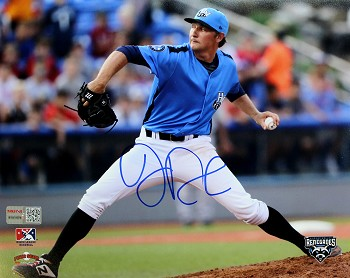 John Doxakis Autographed Tampa Bay Rays Minor Leage Renedages 8x10 Photo