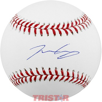 Josiah Gray Autographed Official Baseball
