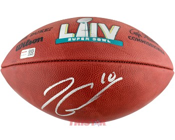 Jimmy Garoppolo Autographed Wilson Official NFL Super Bowl LIV Football