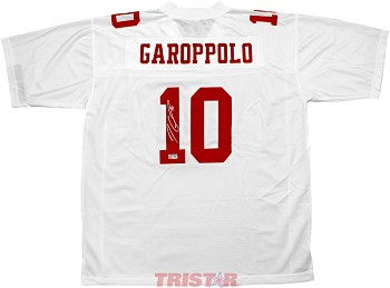 Jimmy Garoppolo Autographed San Francisco 49ers NFL Pro Line White Jersey