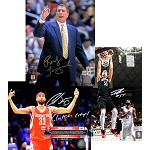 Rudy Tomjanovich & More Autographed Houston Rockets 8x10 Photos Combo