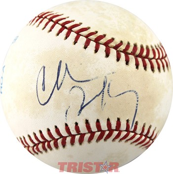 Charles Barkley Autographed Official American League Baseball