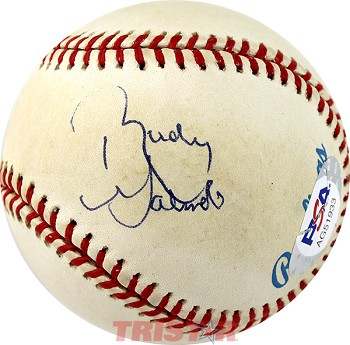 Rudy Galindo Autographed American League Baseball