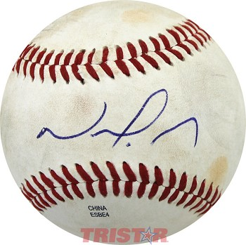Nomar Mazara Autographed Official Southern League Baseball