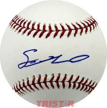 Sean Newcomb Autographed Official Major League Baseball