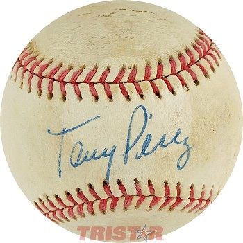 Tony Perez Autographed Official National League Baseball