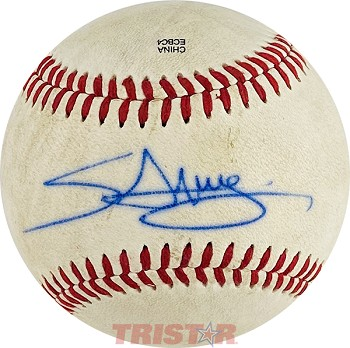 Miguel Sano Autographed Official Southern League Baseball