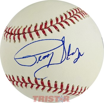 Percy Sledge Autographed Official Major League Baseball
