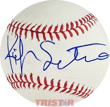 Kiefer Sutherland Autographed Official Major League Baseball