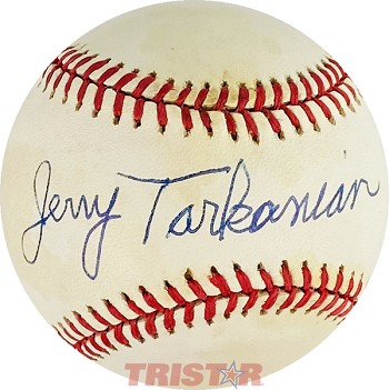 Jerry Tarkanian Autographed Official American League Baseball