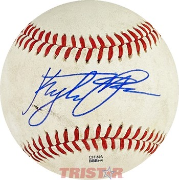 Kyle Tucker Autographed Rawlings Official Minor League Baseball