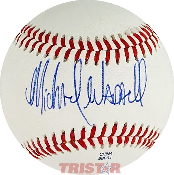 Michael Waddell Autographed Official Minor League Practice Baseball