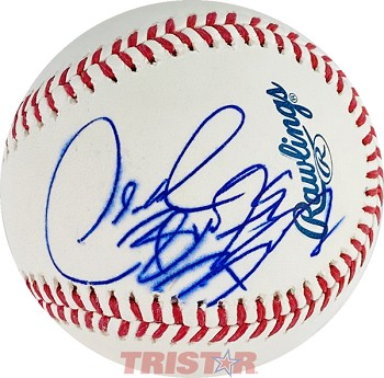 Deontay Wilder Autographed Official Major League Baseball