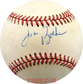 Jim Boeheim Autographed Official National League Baseball