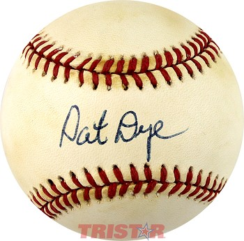 Coach Pat Dye Autographed Official American League Baseball