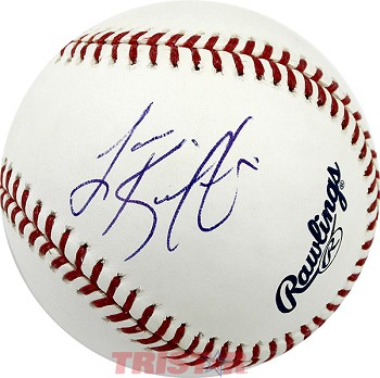 Coach Lane Kiffin Autographed Official Major League Baseball